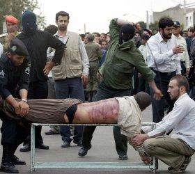 IRANIANS WATCH PUBLIC LASHES