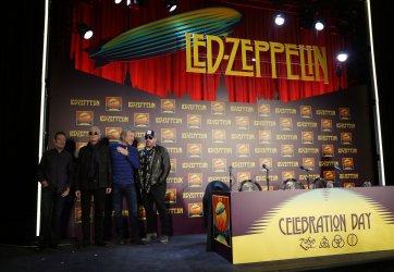 "Led Zeppelin promotes ""Celebration Day"" in New York"
