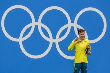 Izaac Stubbletty-Cook Australia Gold Medal Winner at the Tokyo Olympics