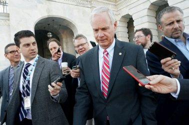Sen. Ron Johnson on Capitol Hill in Washington