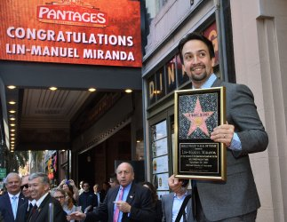 Lin-Mauel Miranda honored on Hollywood Walk of Fame in Los Angeles