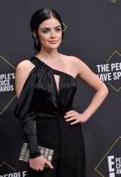 Lucy Hale attends E! People's Choice Awards in Santa Monica