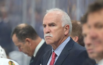 Chicago Blackhawks head coach Joel Quenneville