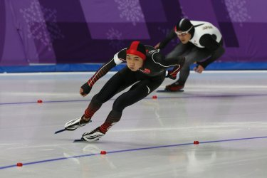 Finals Of Men's 500m Speed Skating At The 2018 Pyeongchang Winter Olympics