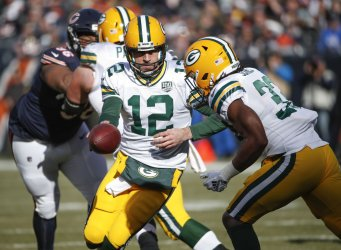 Chicago Bears and Green Bay Packers in Chicago