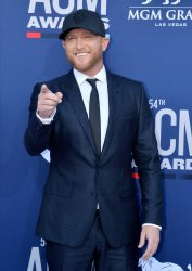 Cole Swindell attends the Academy of Country Music Awards in Las Vegas
