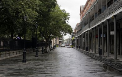 New Orleans prepares for Hurricane Zeta