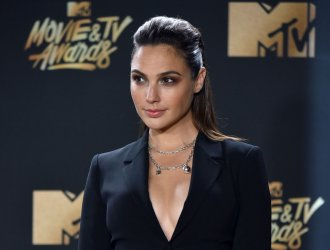 Gal Gadot attends the 2017 MTV Movie & TV Awards in Los Angeles