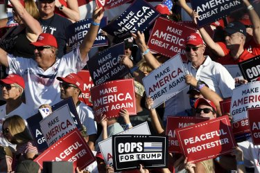 President Trump Holds Campaign Rally in Sanford, Florida
