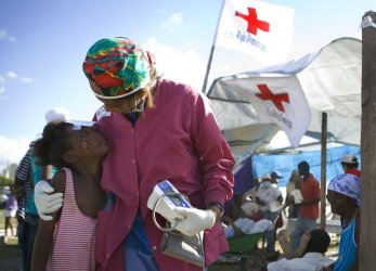 American Red Cross provides aid to disasters-stricken Haiti