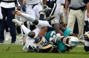 Los Angeles Rams vs. Miami Dolphins in Los Angeles
