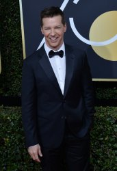 Sean Hayes attends the 75th annual Golden Globe Awards in Beverly Hills