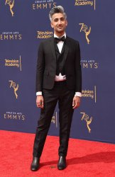 Tan France attends the Creative Arts Emmy Awards in Los Angeles