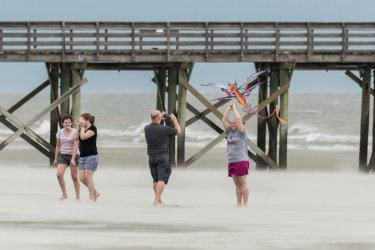 Tropical Storm Florence Approaches Charleston Region