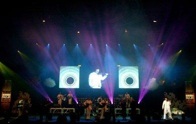 Iranian rock group Arian performs in Tehran
