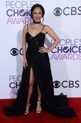 Cheryl Burke attends the 43rd annual People's Choice Awards in Los Angeles