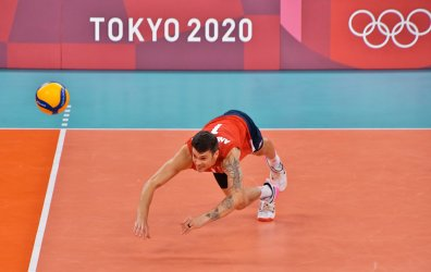 Men's Volleyball  preliminary round at Tokyo Olympics