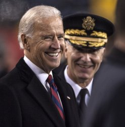 Vice-President Joe Biden at Army-Navy game.