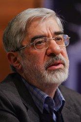 Former Iranian prime minister Mir-Hossein Mousavi in Tehran