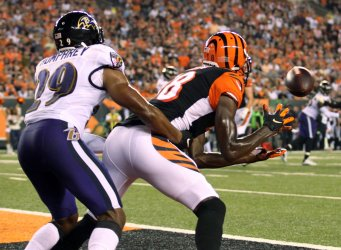 Bengals wide receiver A.J. Green makes the touchdown catch