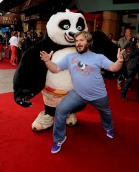 """Kung Fu Panda"" premiere in London"