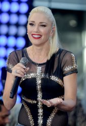 Gwen Stefani performs on the NBC Today Show