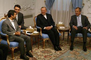 FMs OF FOUR LITTORAL STATES OF THE CASPIAN SEA MEETS IRAN'S PRESIDENT MAHMOUD AHMADINEJAD
