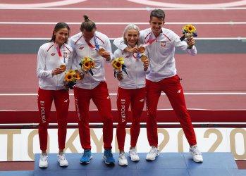Poland Gold Medal in Mixed 4X400 Relay at Tokyo Olympics
