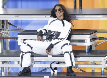 Ciara performs on GMA in New York