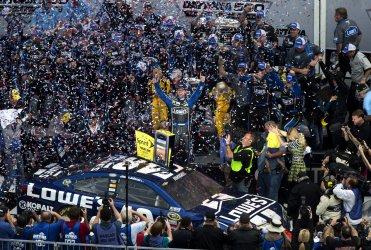 Jimmie Johnson wins the 55th Daytona 500