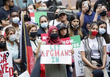 Save Afghan Lives Rally in New York