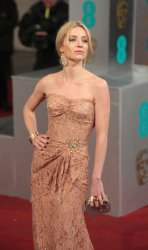Annabelle Wallis arrives at the Baftas Awards Ceremony