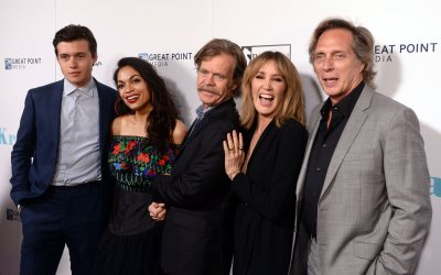 "Cast members gather for photo-op at the ""Krystal"" premiere in Los Angeles"