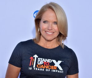 """Katie Couric attends the biennial """"Stand Up to Cancer"""" fundraising telecast in Santa Monica, California"""