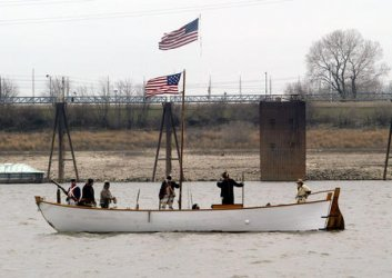 LEWIS AND CLARK RE-ENACTMENT