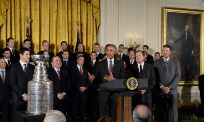 Obama Honors the Pittsburgh Penguins at the White House