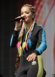 Rita Ora performs live in Glasgow.