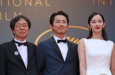 """The team from """"Burning"""" attends the Cannes Film Festival"""