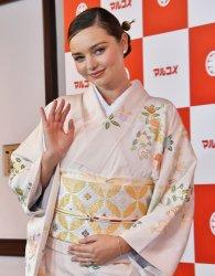 Miranda Kerr promotes fermented foods in Tokyo