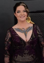 Ashley McBryde arrives for the 62nd annual Grammy Awards in Los Angeles