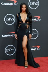 Ciara attend the 27th annual ESPY Awards in Los Angeles
