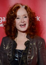 Musician Bonnie Raitt arrives at 2013 MusiCares Person of the Year gala in Los Angeles