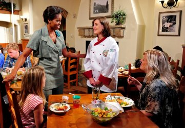 First Lady Michelle Obama announces a new partnership with Darden Restaurants in Washington