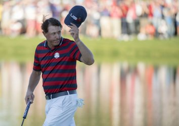 Day 2 of the Ryder Cup in Minnesota