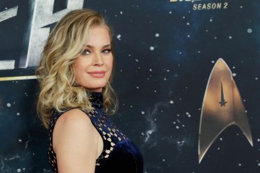 Rebecca Romijn at the 'Star Trek: Discovery' premiere