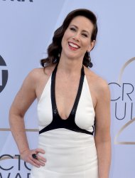 Miriam Shor attends the SAG Awards in Los Angeles