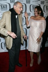 Abe Vigoda and Kim Fields arrive for the TV Land Awards in New York