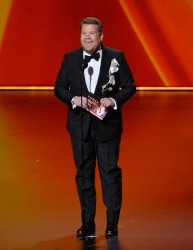 James Corden at Primetime Emmy Awards in Los Angeles