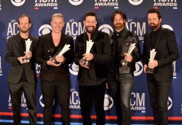 Old Dominion wins award at the Academy of Country Music Awards in Las Vegas