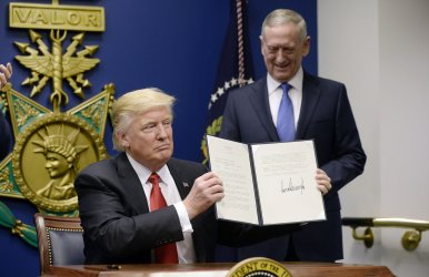 President Trump signs Executive Orders